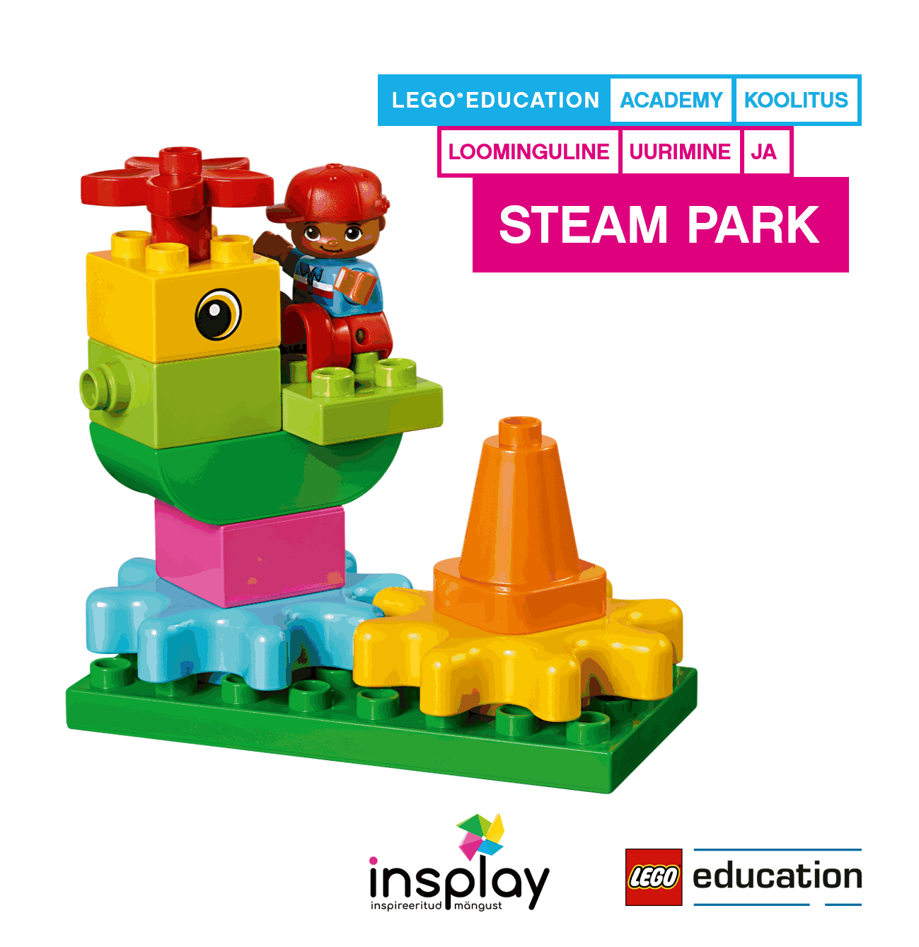 LEGO Education STEAM PARK õpetajajuhend