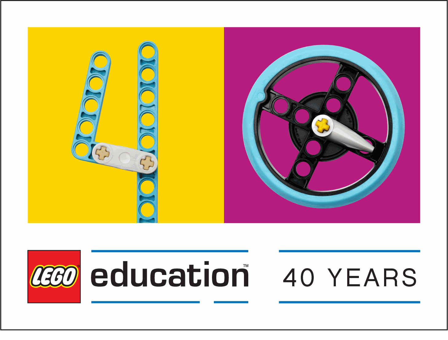 LEGO Education 40 aastat