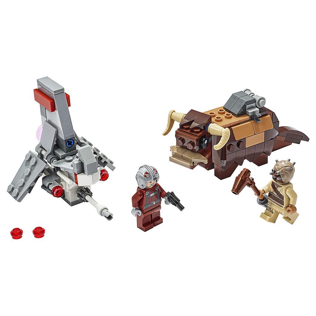 LEGO Star Wars T-16 Skyhopper vs bantha mikrovõitleja