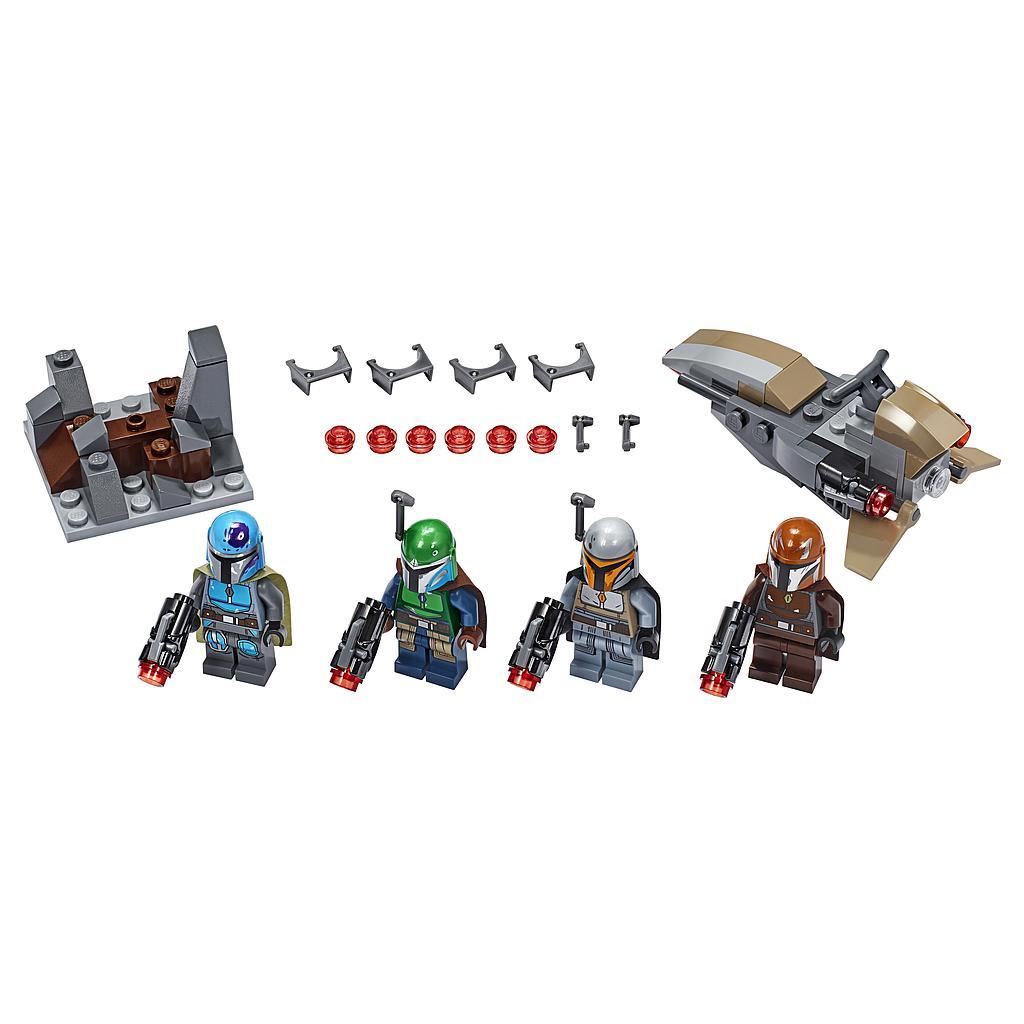 LEGO Star Wars Mandalorian´i sõdalaste lahingukomplekt