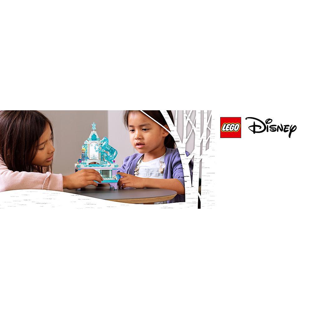 LEGO Disney Princess Elsa ehtekarbi meisterdamine
