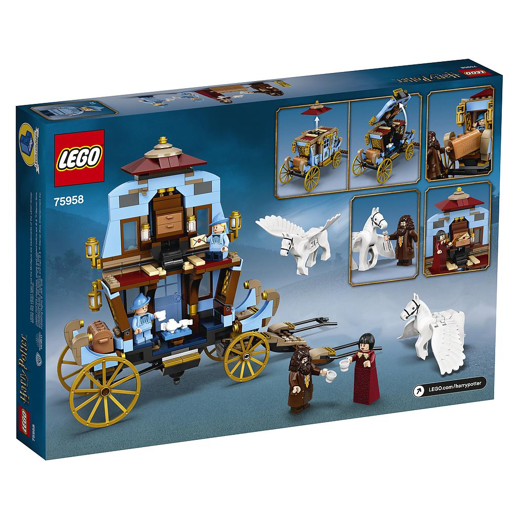 LEGO Harry Potter Beauxbatonsi kaarik : saabumine Sigatüüka lossi