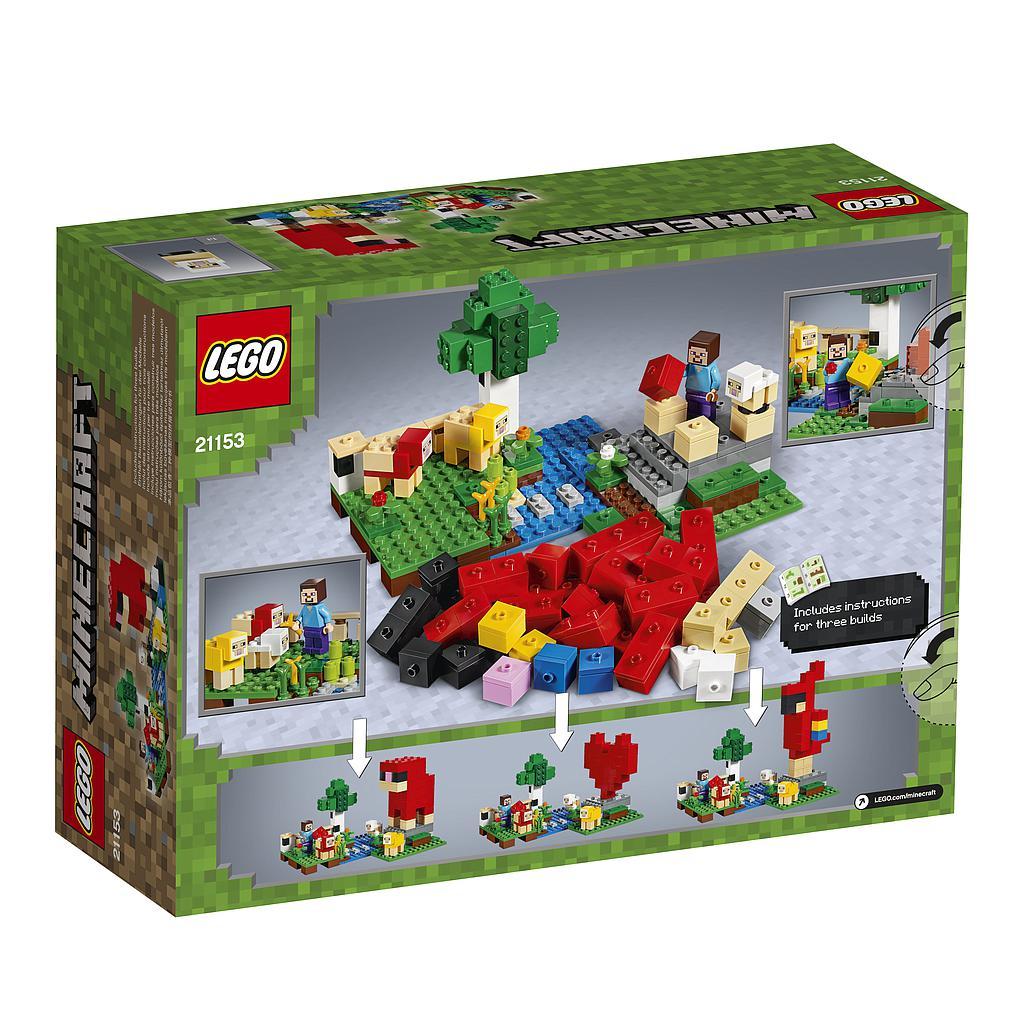 LEGO Minecraft Villakasvandus