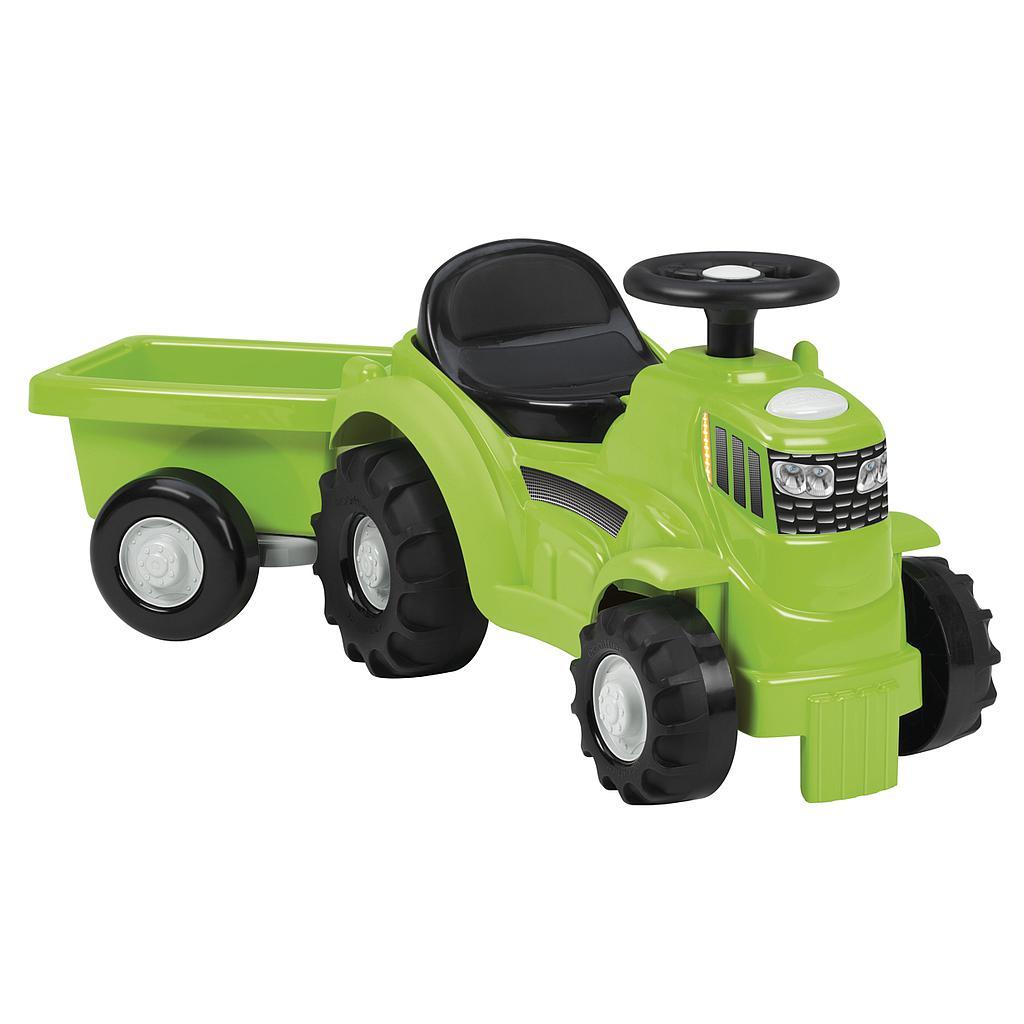 Ecoiffier traktor järelkäruga
