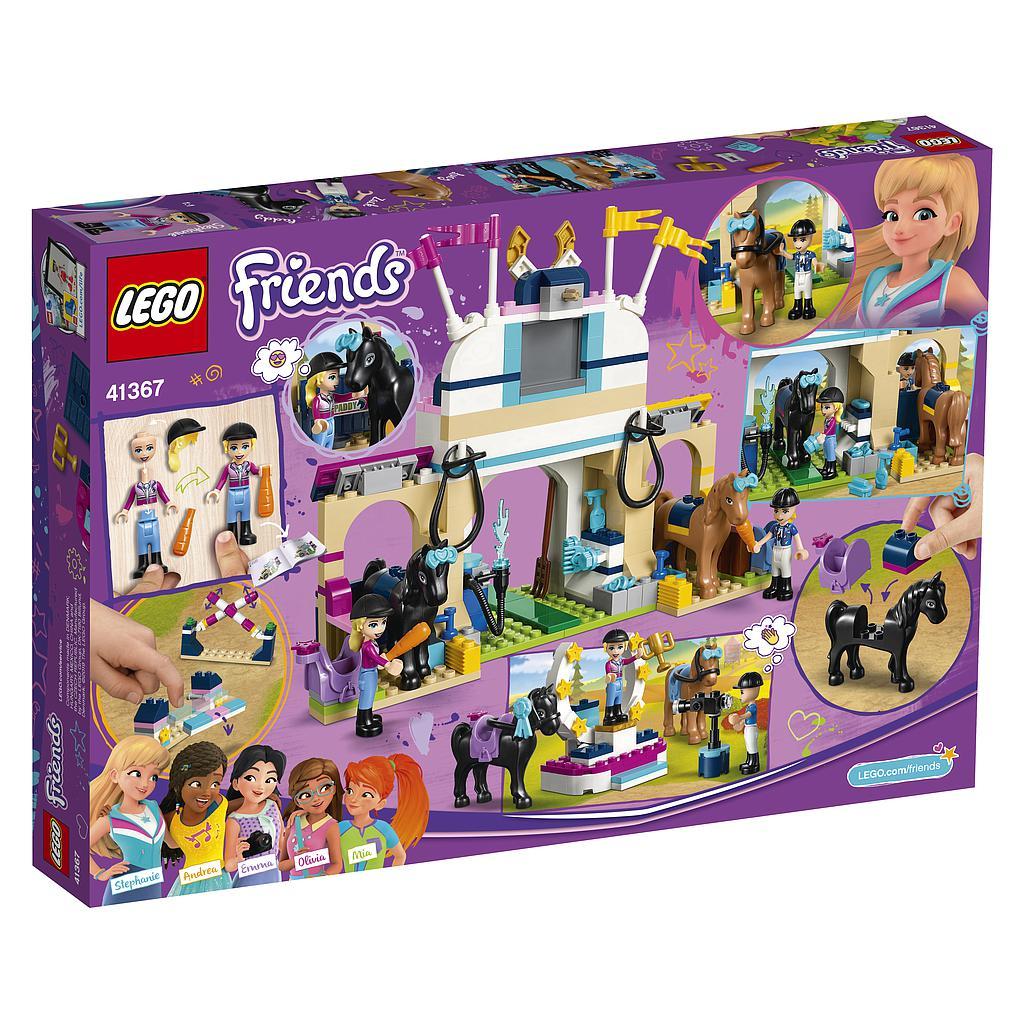 LEGO Friends Stephanie ratsutamisareen