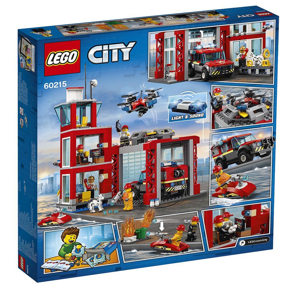 LEGO City Tuletõrjedepoo