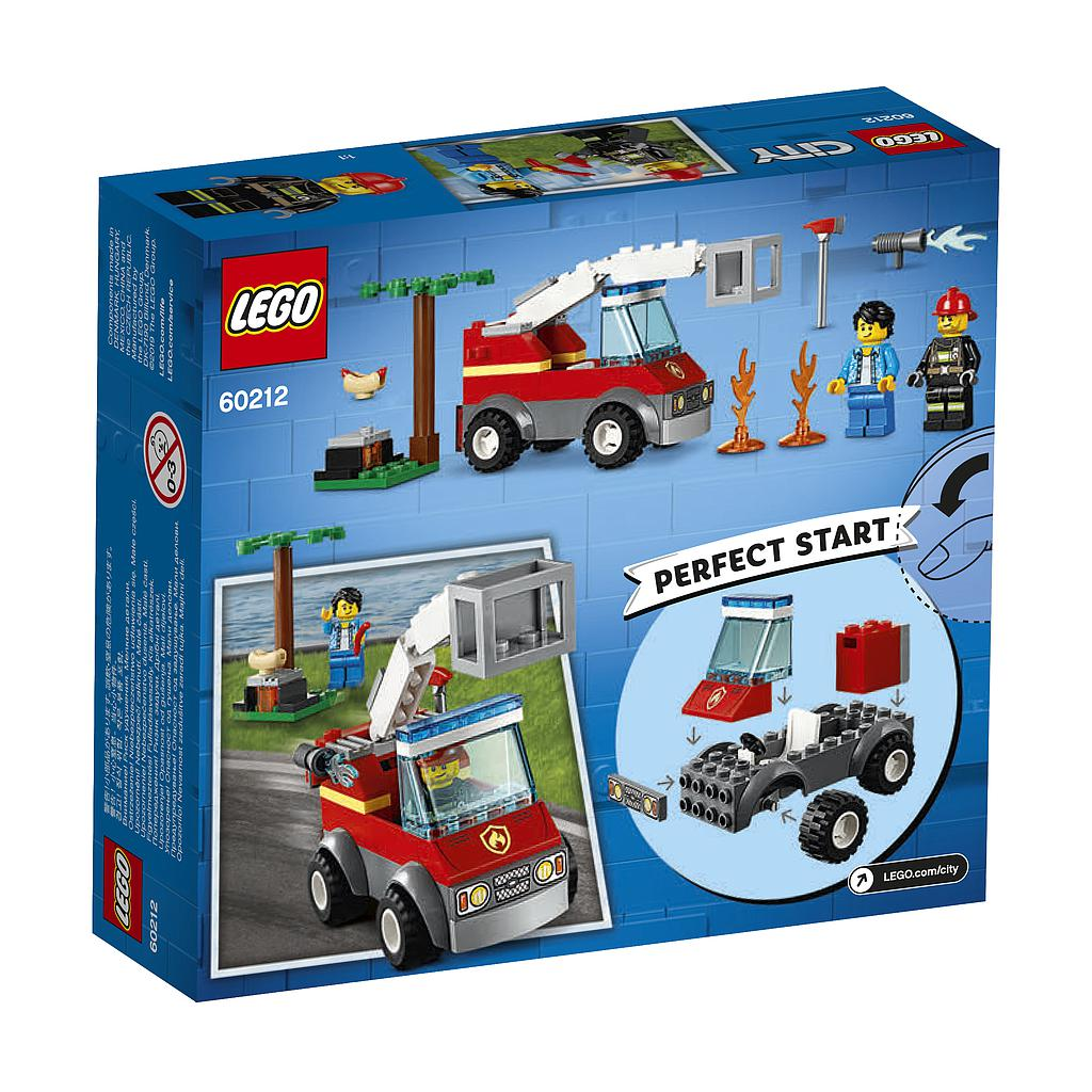 LEGO City Grilli läbipõletamine