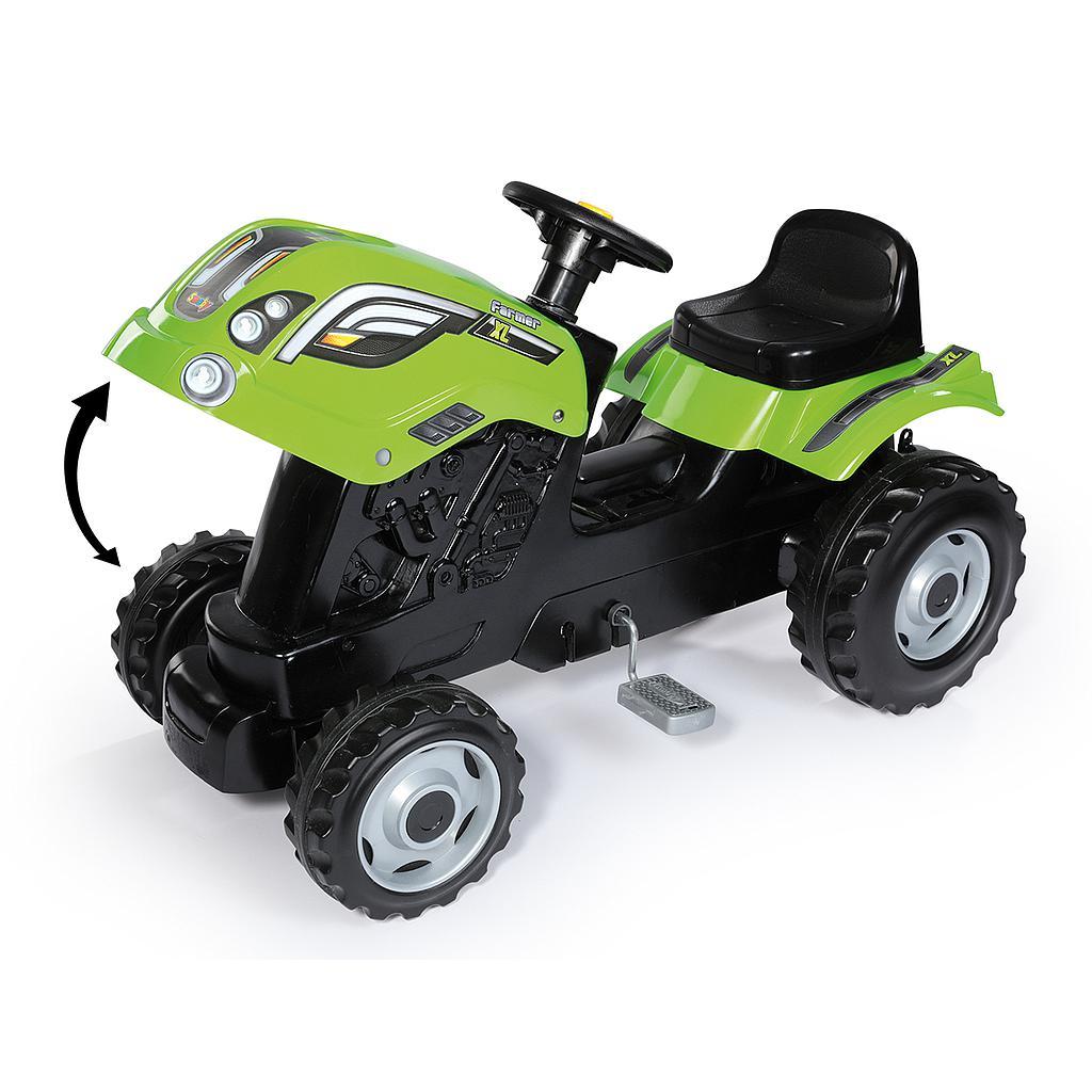 Smoby traktor Farmer XL + käru