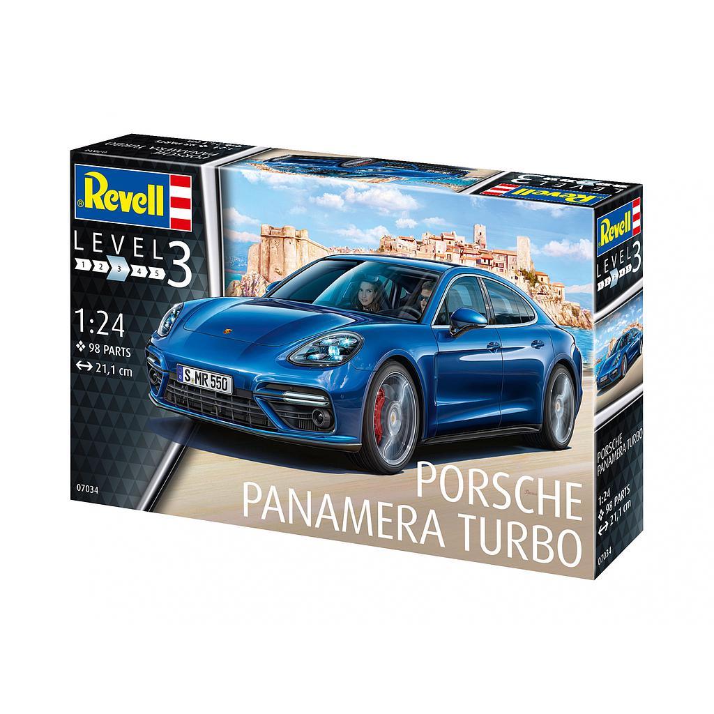 Revell Porsche Panamera Turbo 1:24
