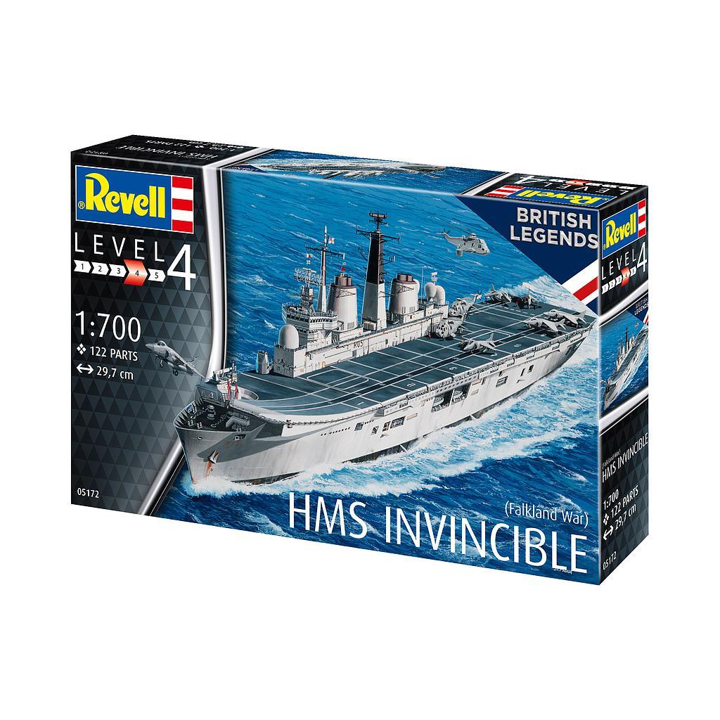 Revell HMS Invincible (Falkland War) 1:700
