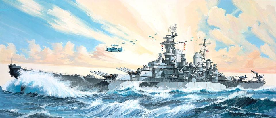 Revell Battleship USS Missouri  1:535