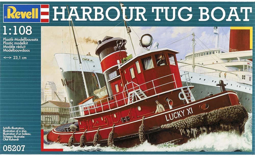 Revell Harbour Tug Boat  1:108