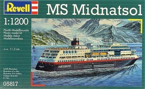 Revell MS Midnatsol 1:1200