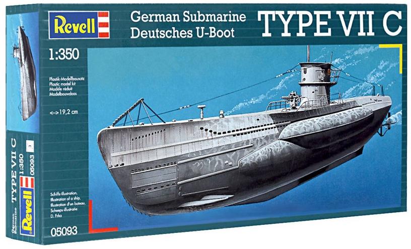 Revell German Submarine Type VII C  1:350