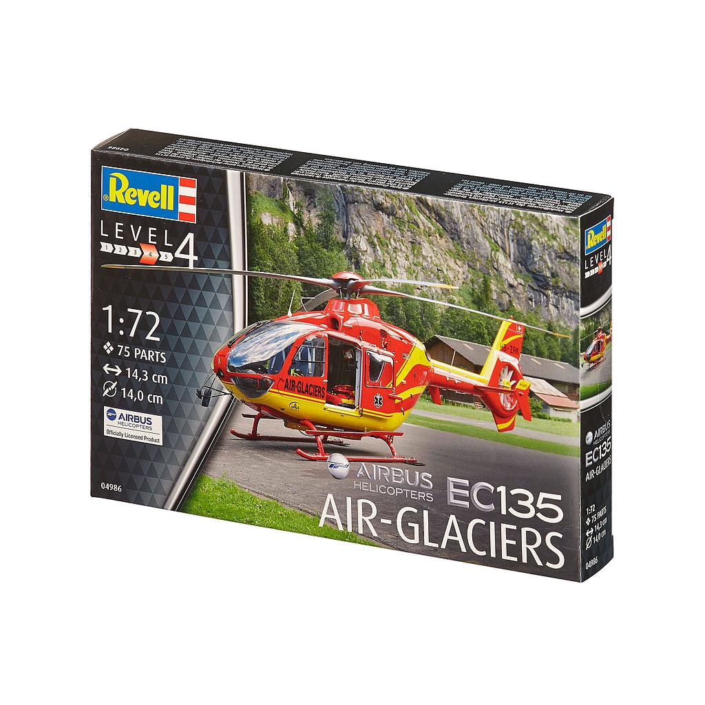 Revell Airbus Helikopter EC135 AIR-GLACIERS 1:72