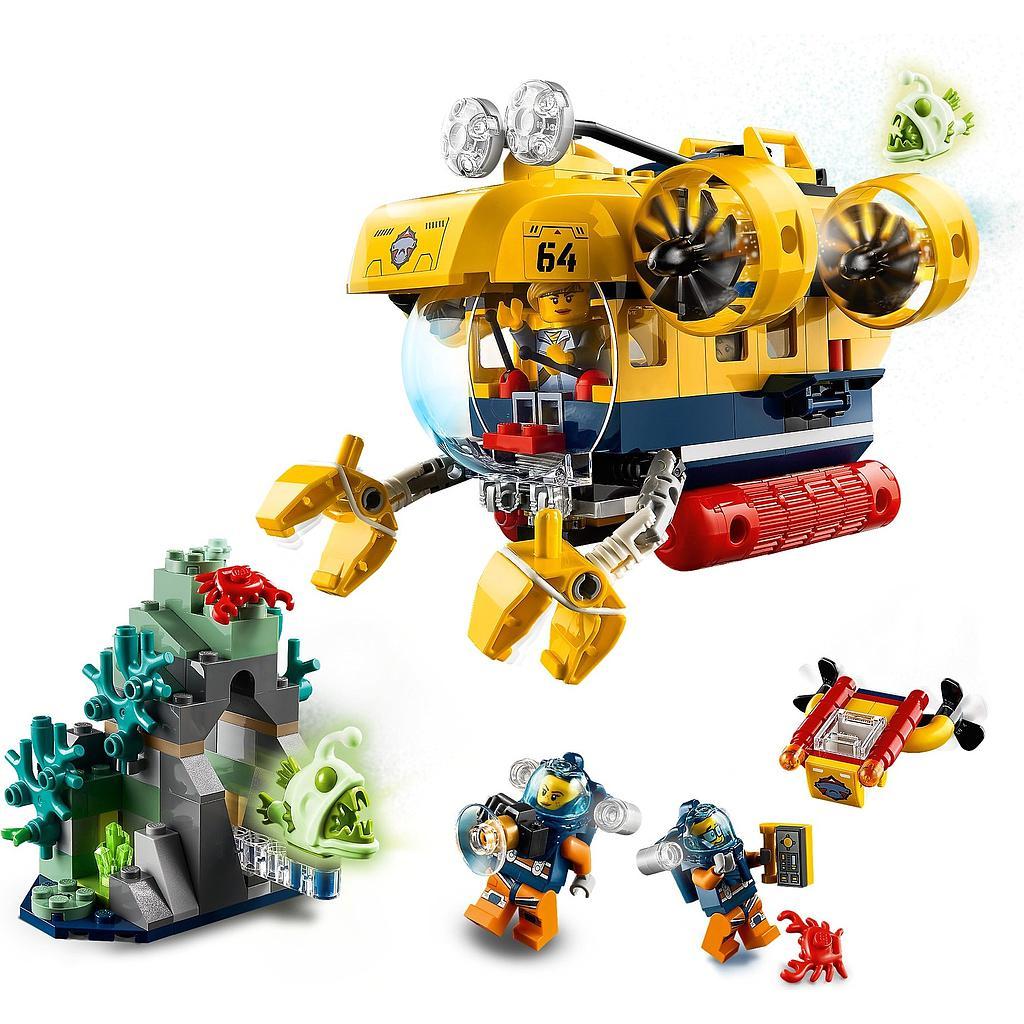 LEGO City Ookeani uurimise allveelaev