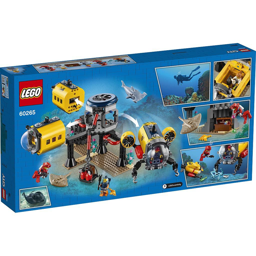 LEGO City Ookeani uurimise baas