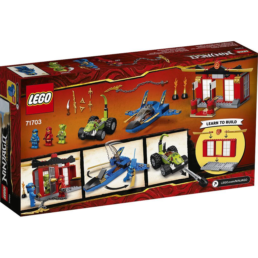 LEGO Ninjago Tormihävitaja lahing