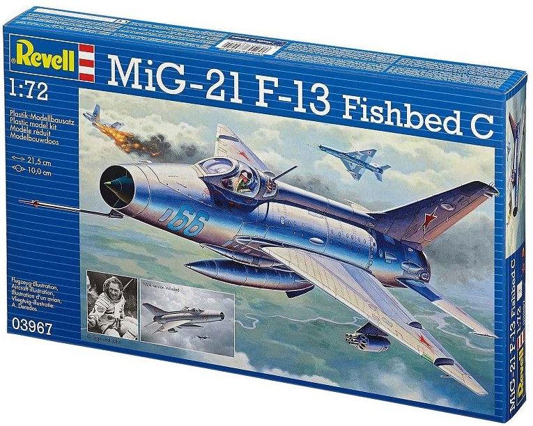 Revell MiG-21 F.13 Fishbed C 1:72