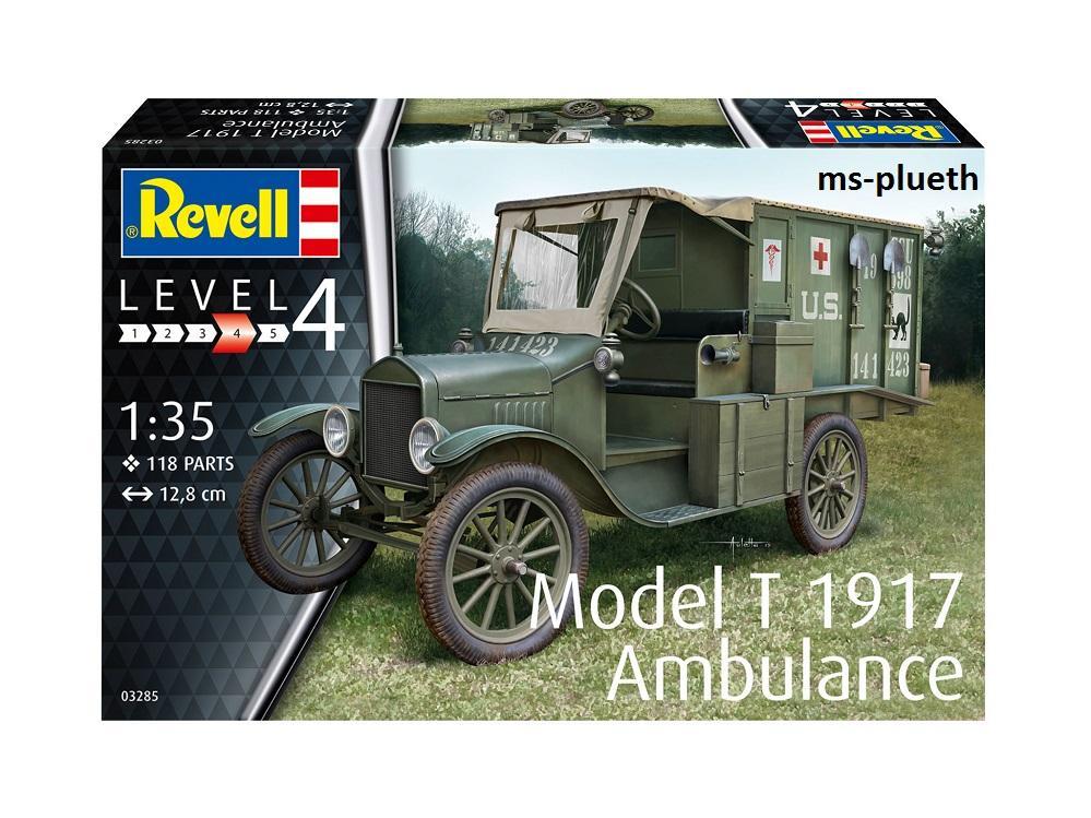 Revelli Model T  1917 Ambulance