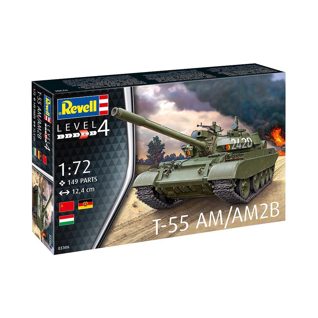 Revell T-55AM / T-55AM2B 1:72