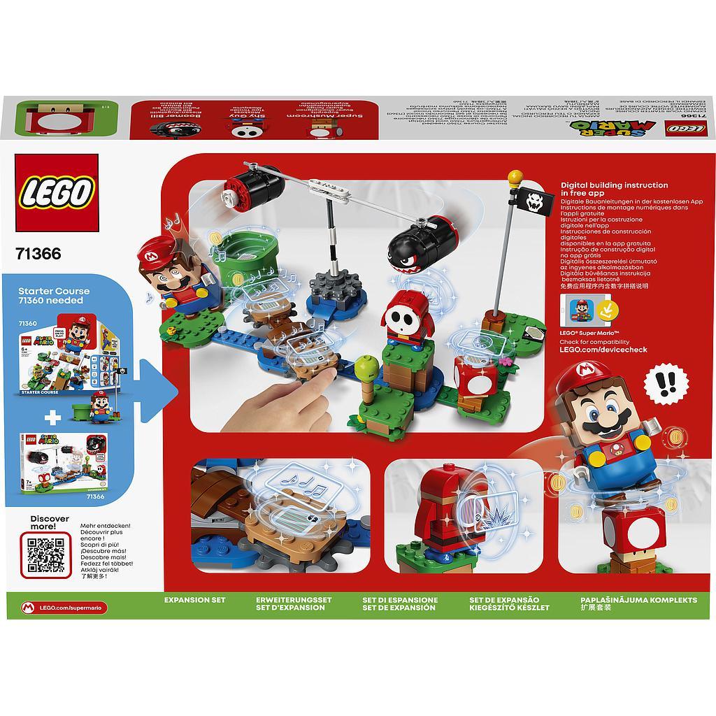 LEGO Super Mario Boomer Billi rünnaku laienduskomplekt