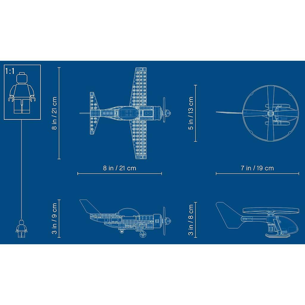 LEGO City Õhuvõidusõit