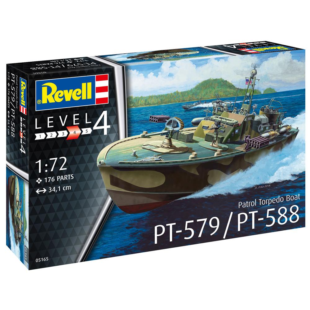 Revelli Patrol Torpedo Boat PT-588/PT-57