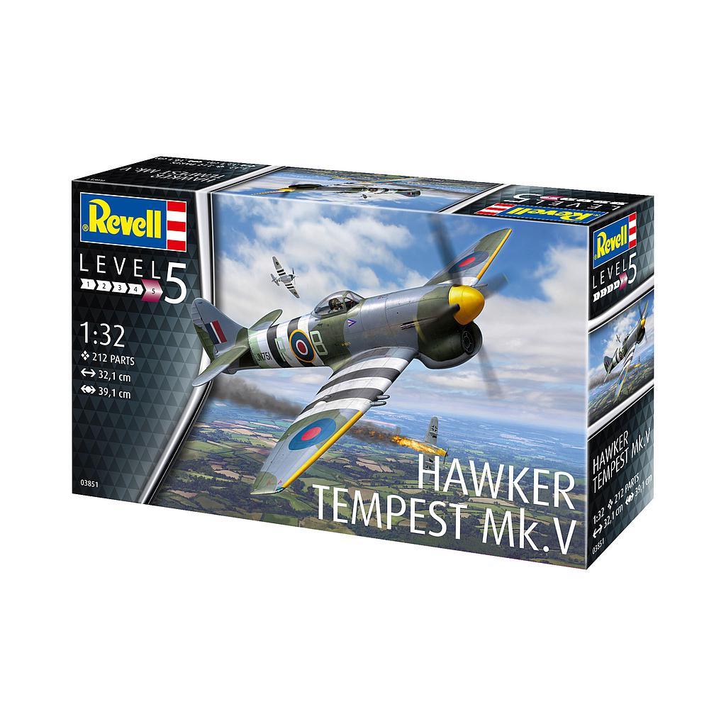 Revell Hawker Tempest 1:32 V