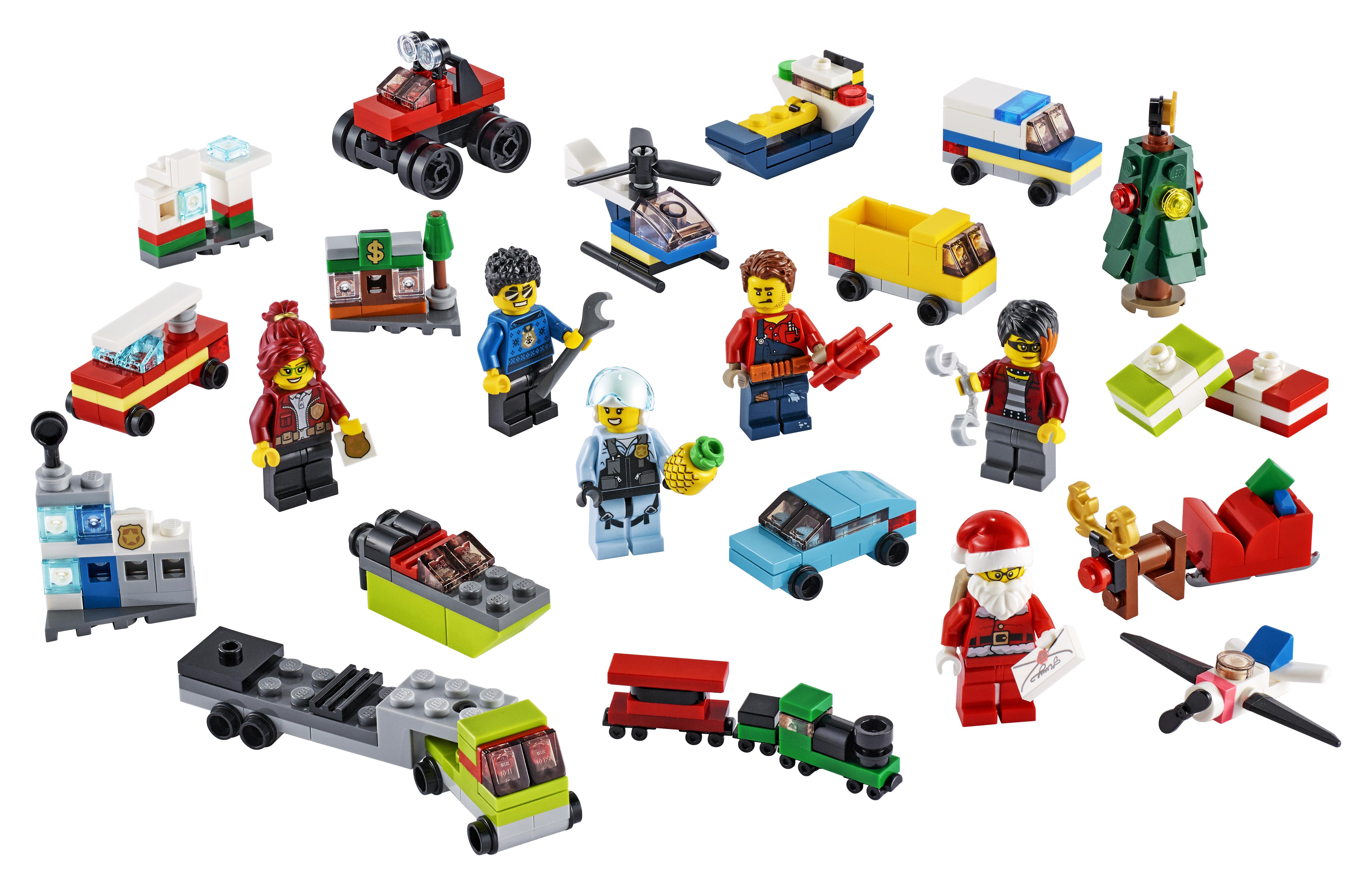 LEGO City Advendikalender 60268, 2020 aasta kalender