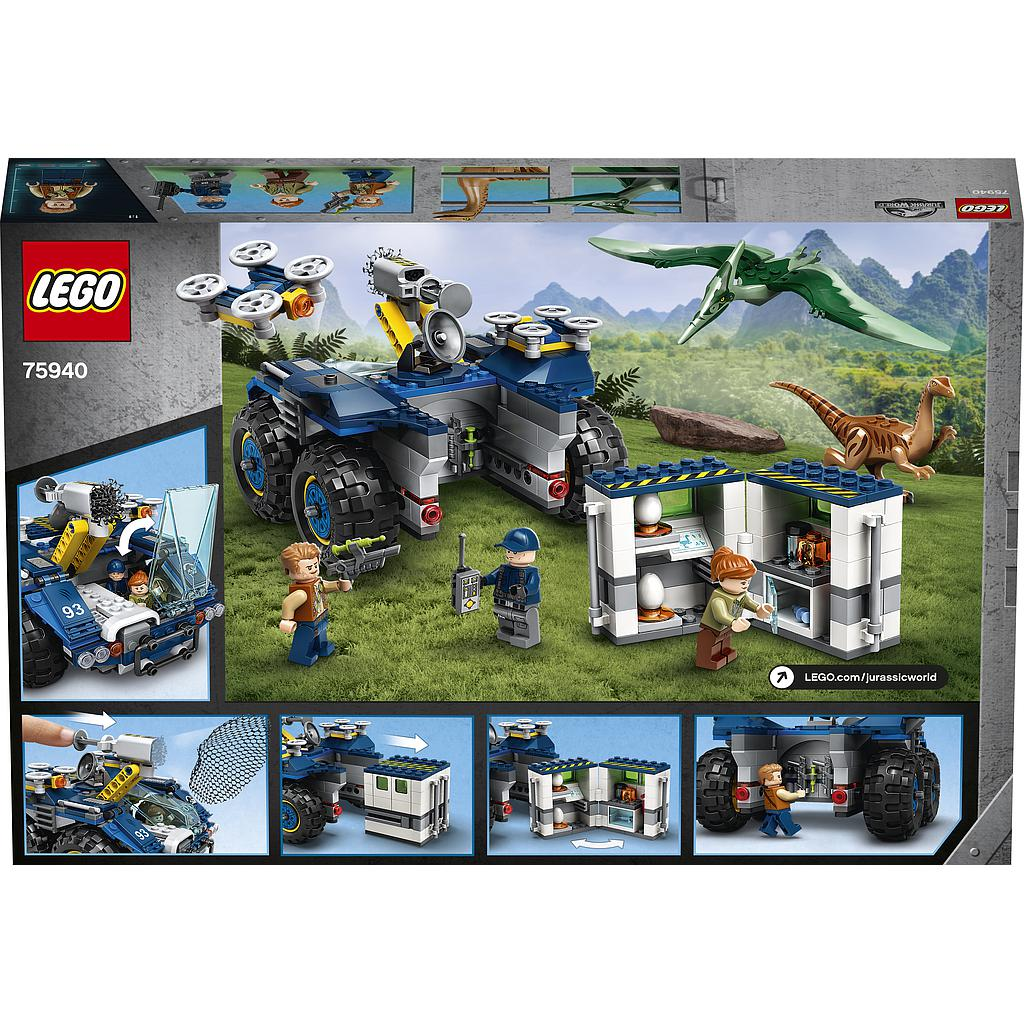 LEGO Jurassic World Gallimimuse ja pteranodoni põgenemine