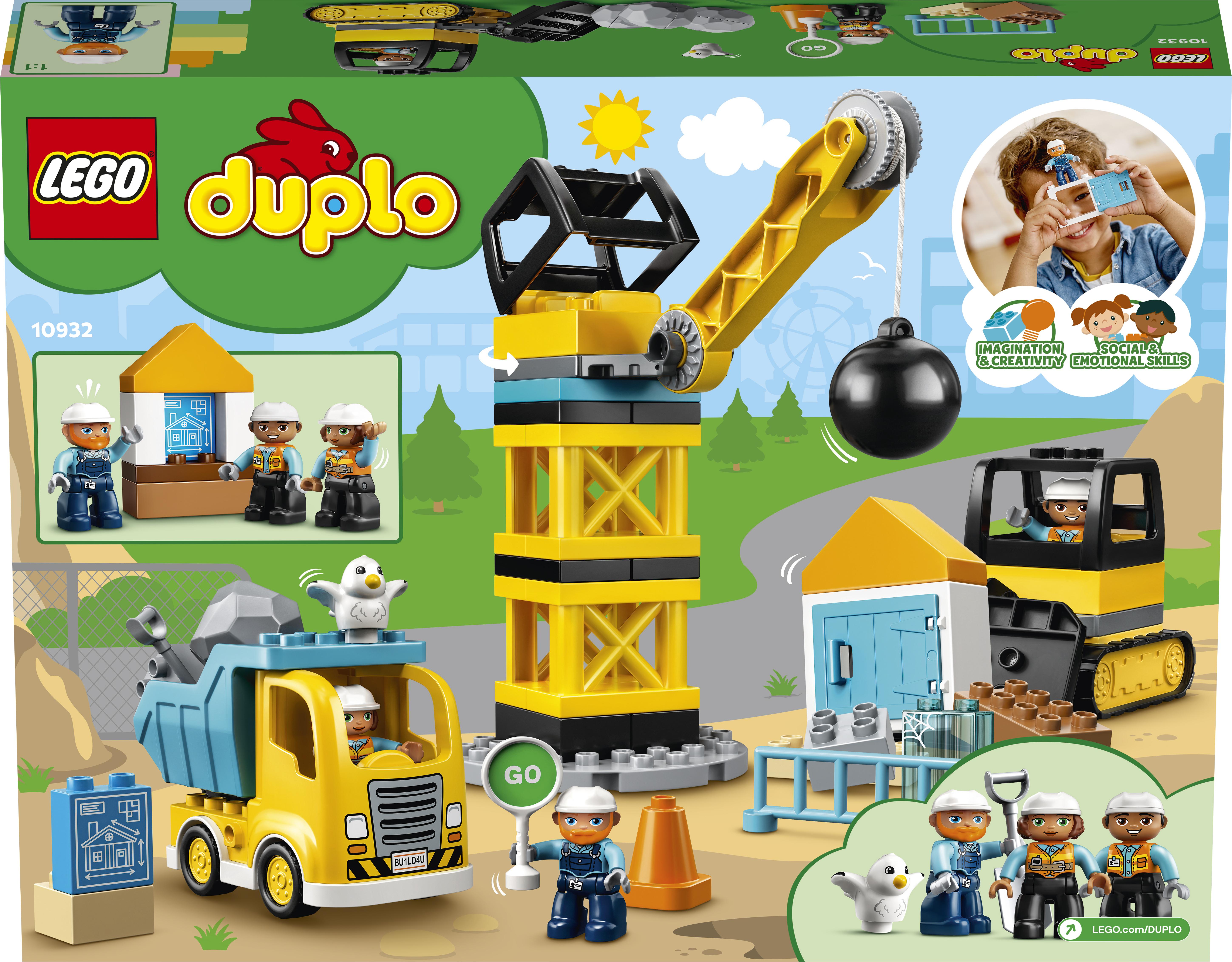 LEGO DUPLO Lammutuskuuliga lammutamine 10932