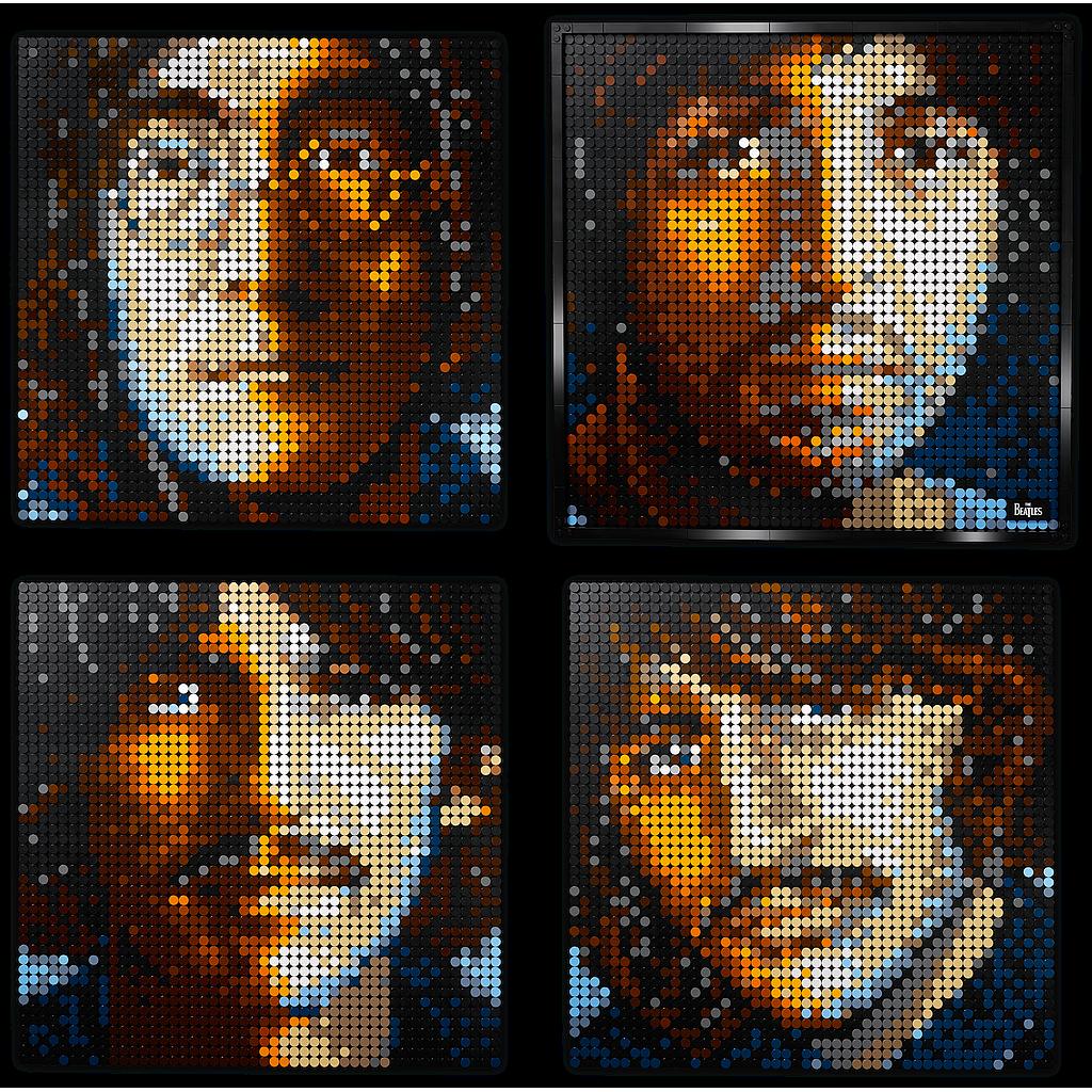 LEGO ART The Beatles