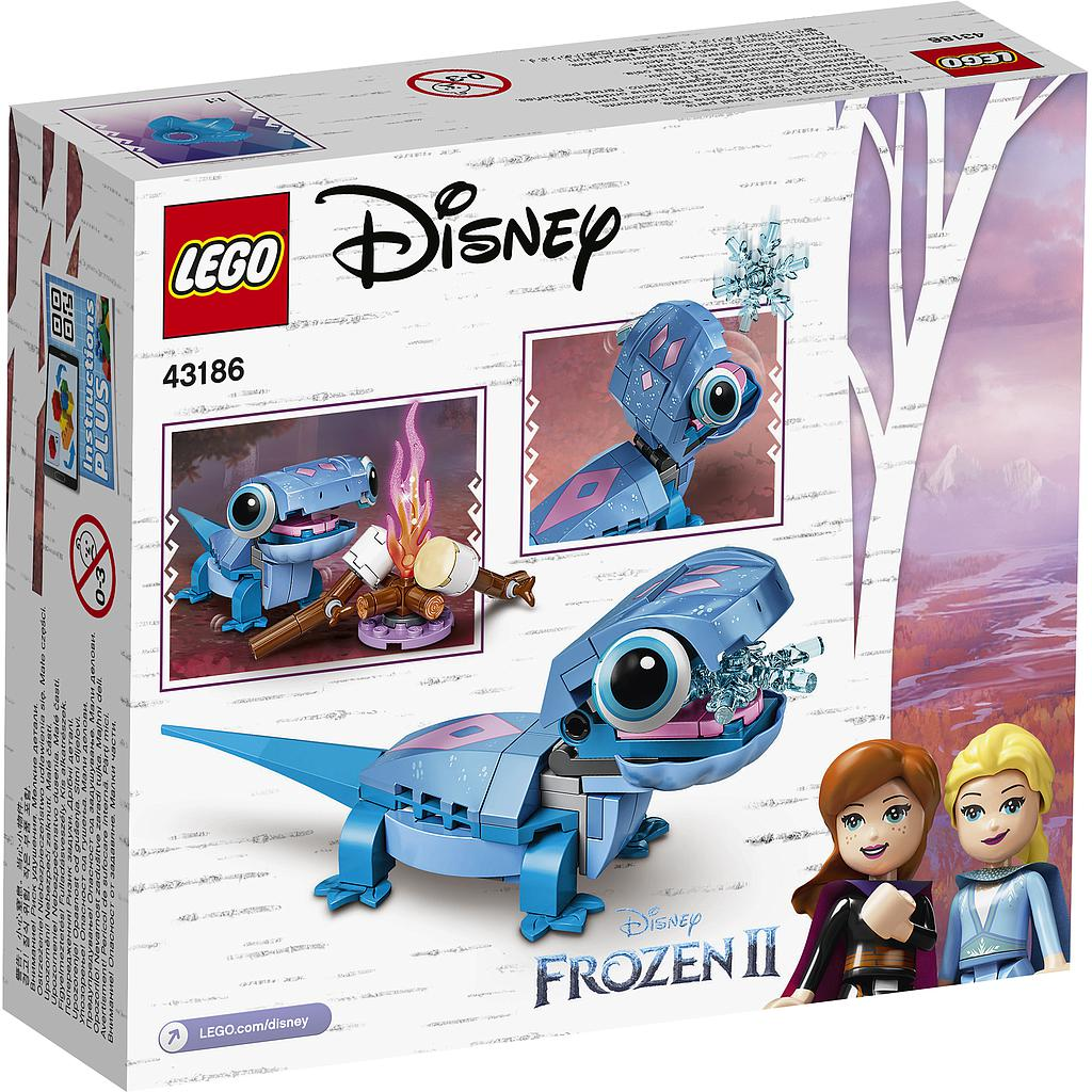 LEGO Disney Princess Salamander Bruni tegelaskuju