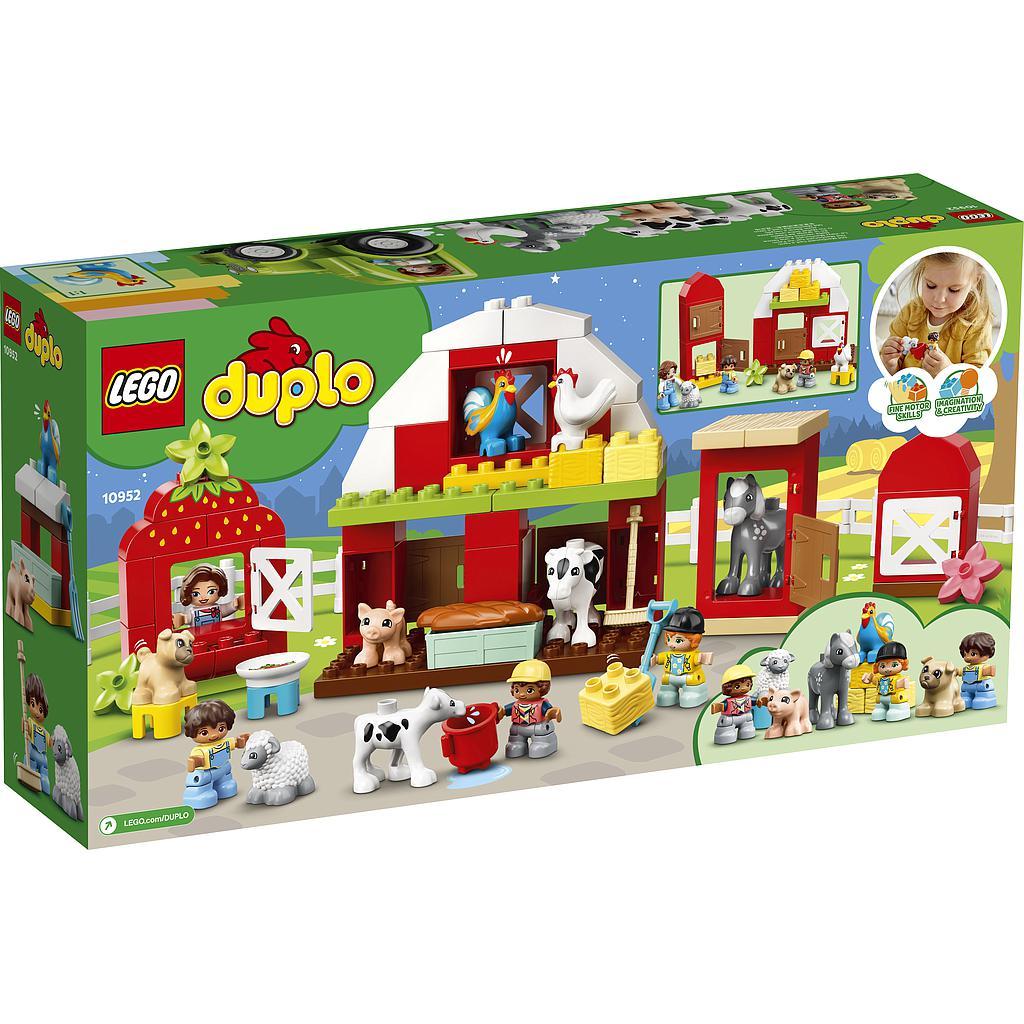 LEGO DUPLO küün,traktor ja taluloomade turvakodu