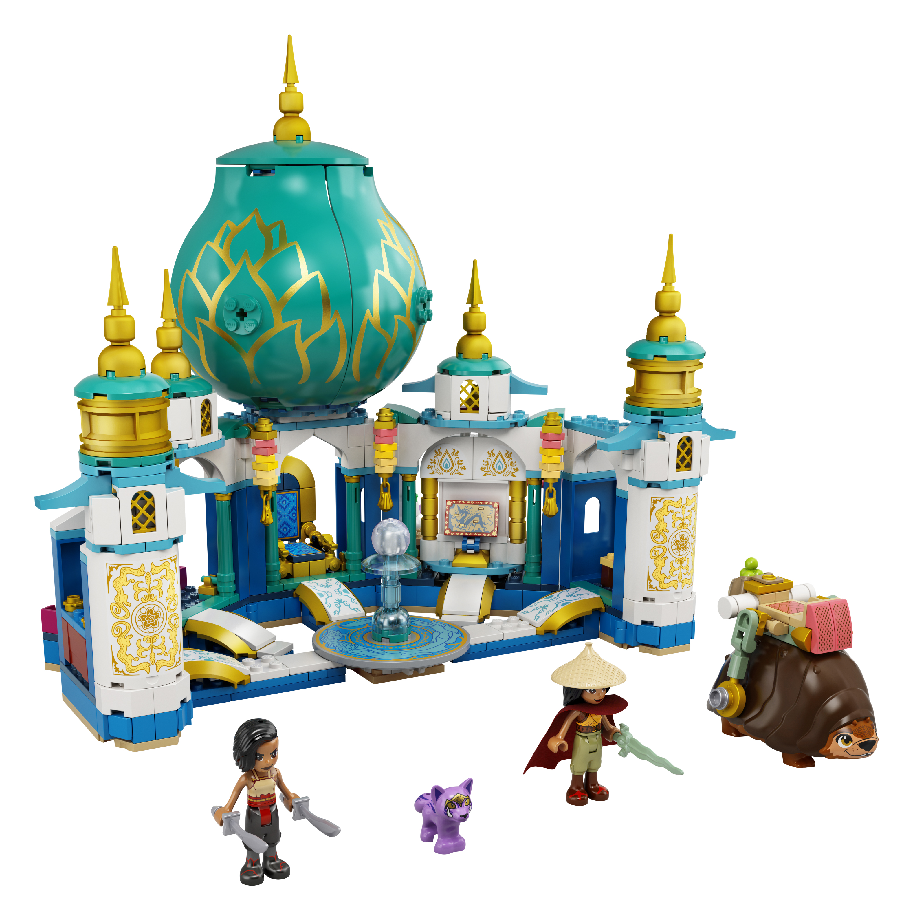 LEGO Disney Princess Raya ja südamepalee 43181