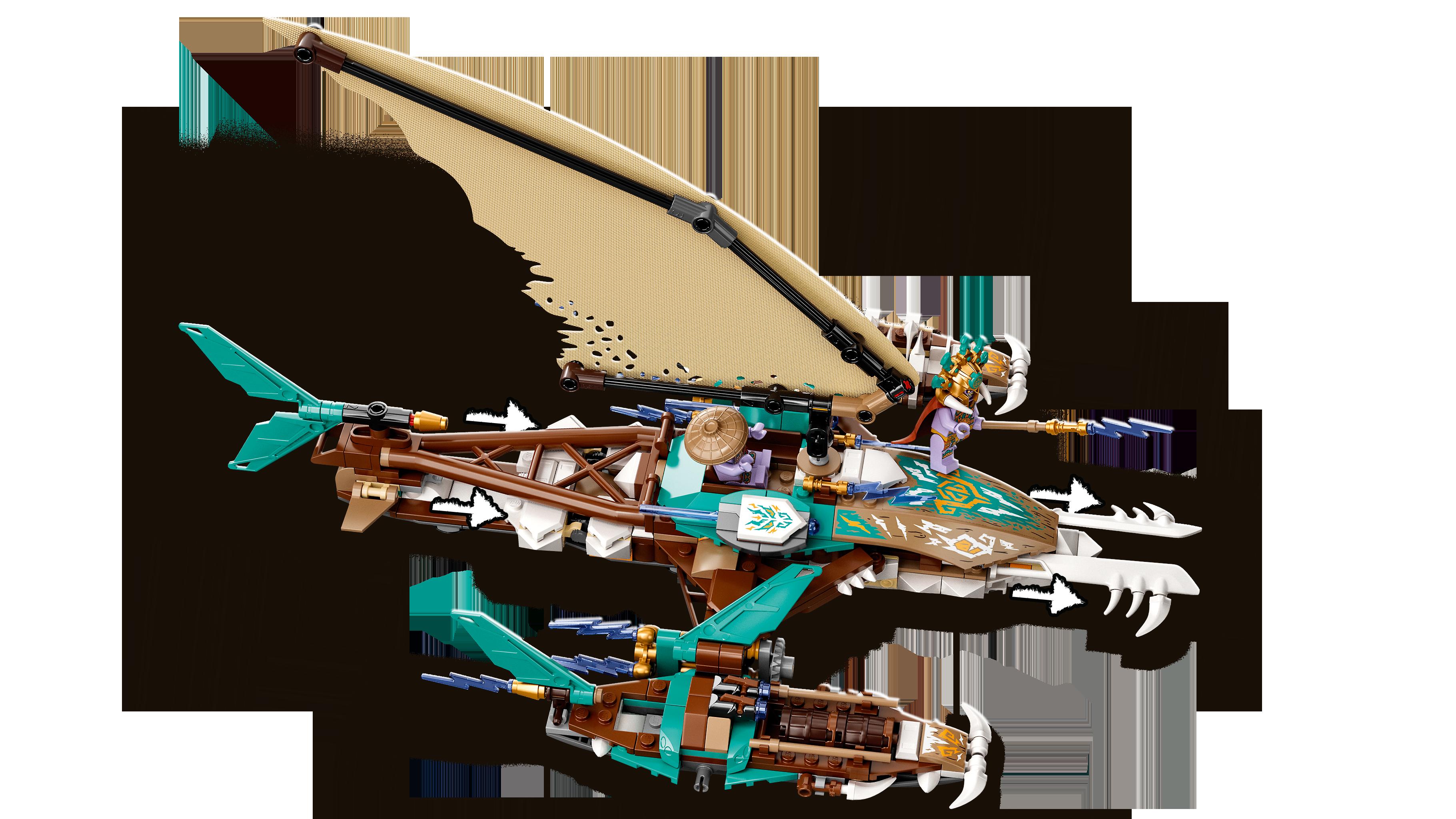 LEGO Ninjago Merelahing katamaraanil 71748