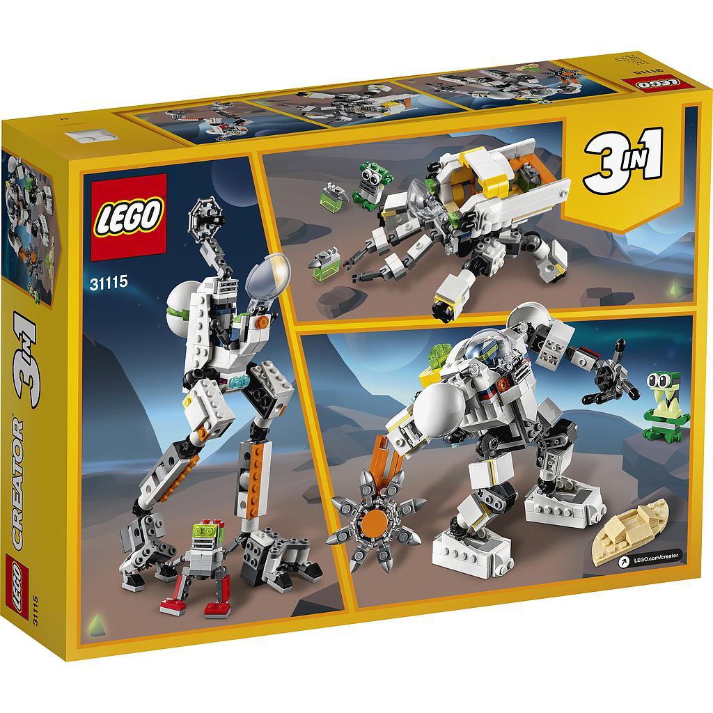 LEGO Creator Kosmosekaevandusrobot
