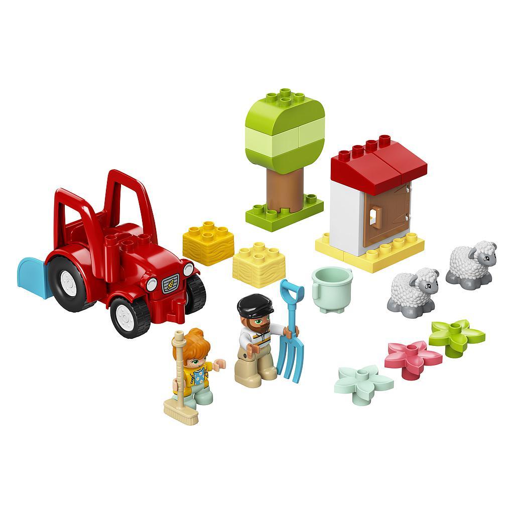 LEGO DUPLO Talutraktor ja loomade turvakodu