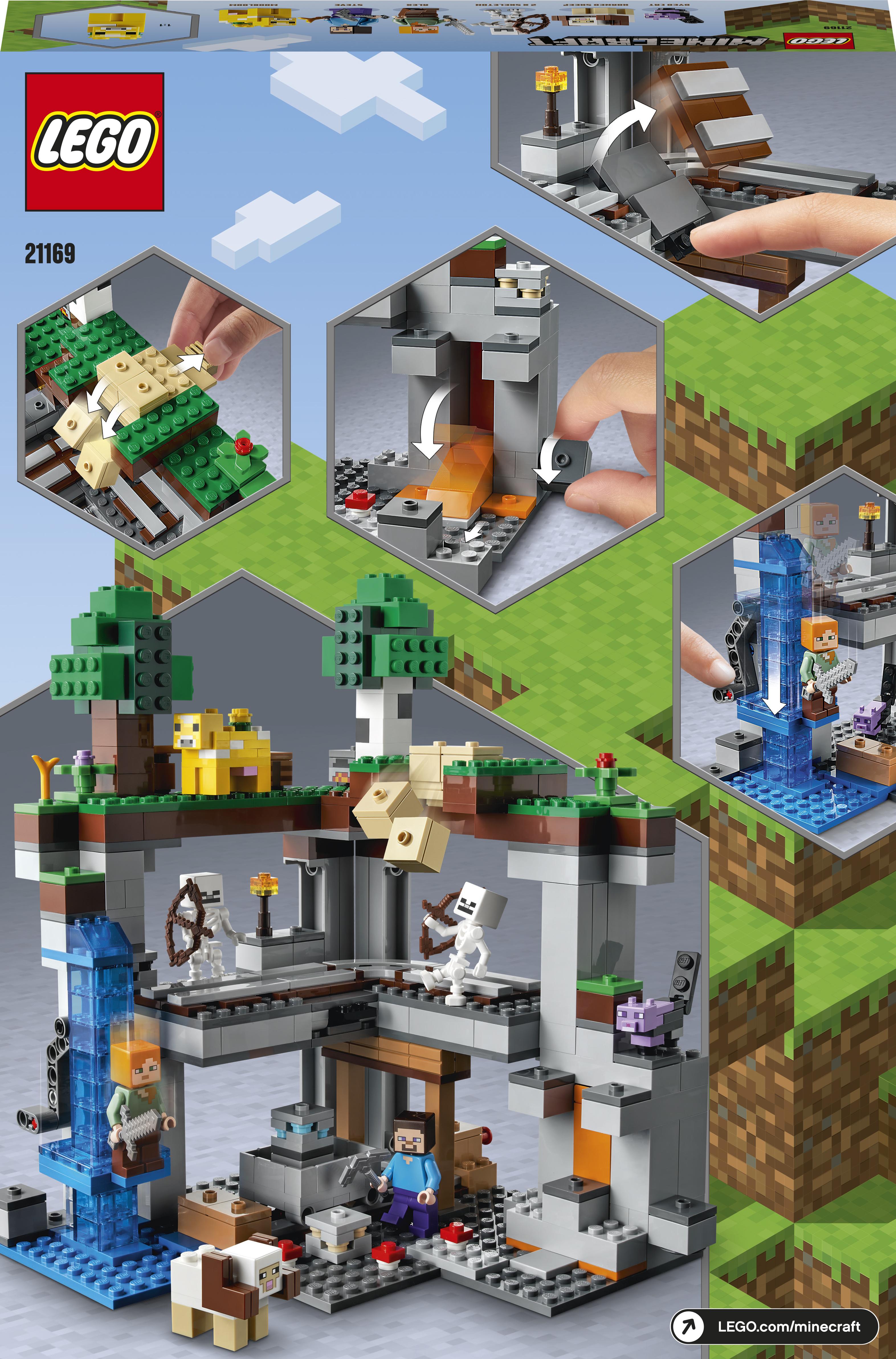 LEGO Minecraft Esimene seiklus 21169