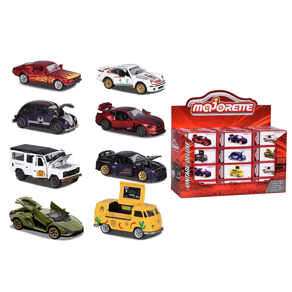 Majorette autod, 8 erinevat