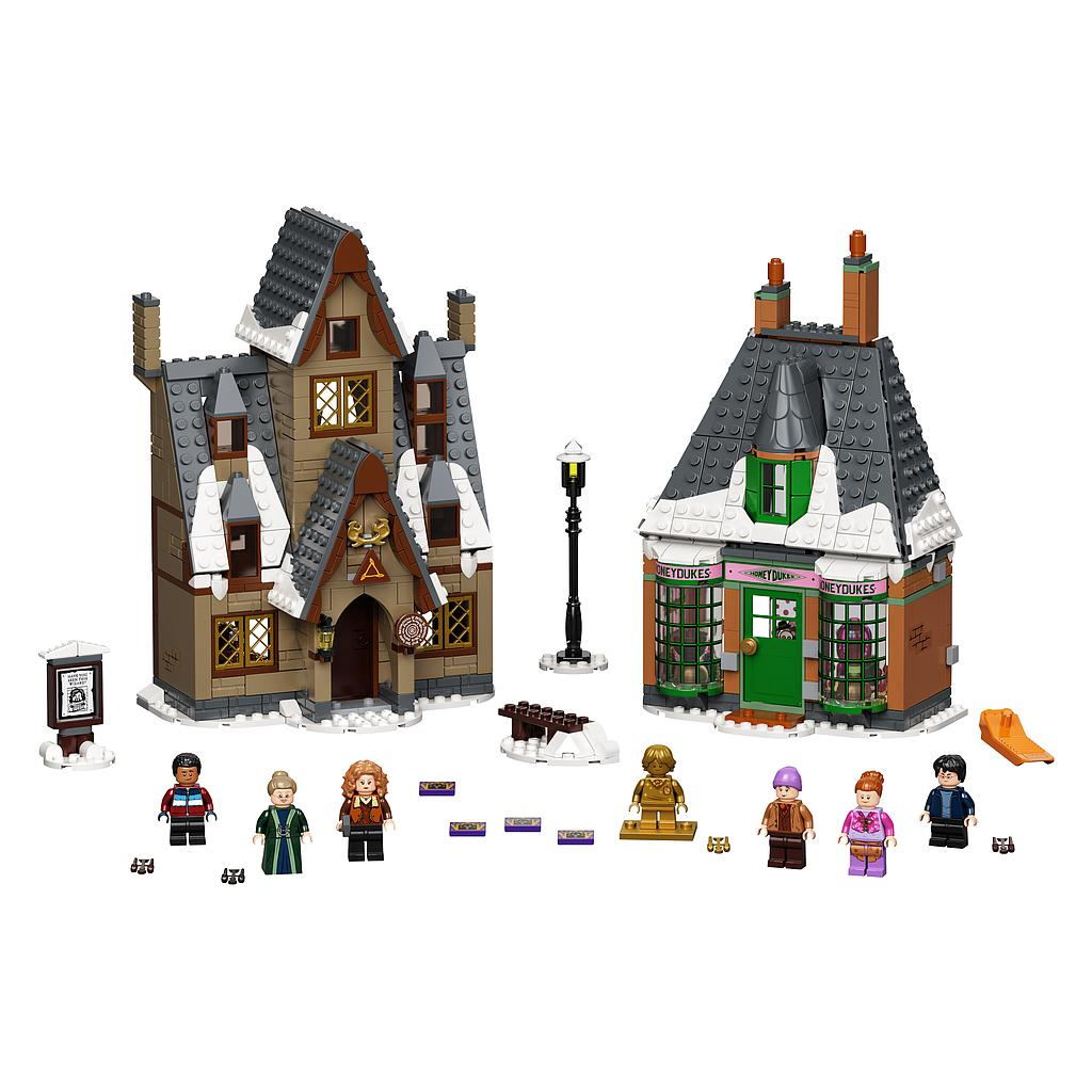 LEGO Harry Potter küla külastus