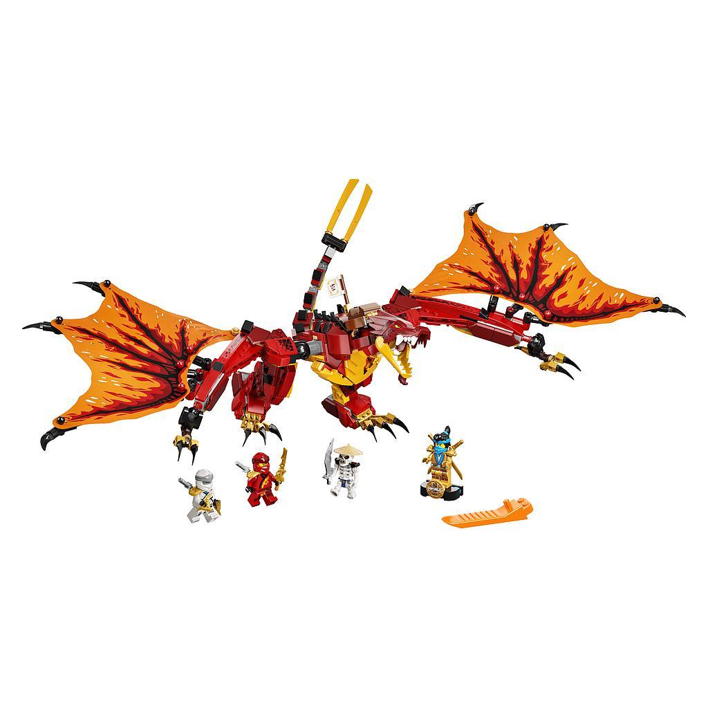 LEGO Ninjago Tuledraakoni rünnak