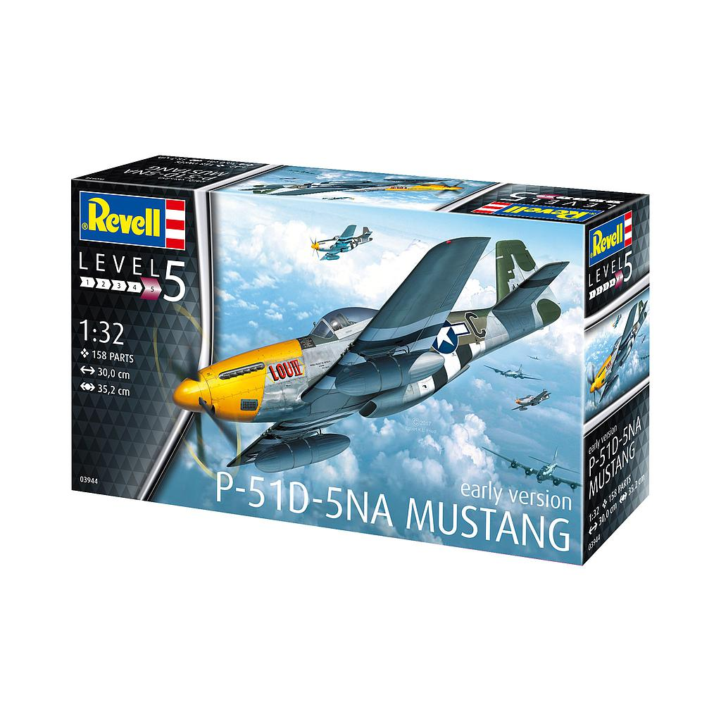 Revell P-51D-5NA Mustang (early version) 1:32