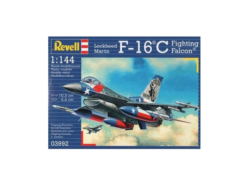 Revell Lockheed Martin F-16C F..
