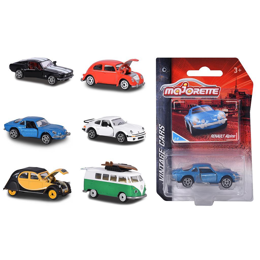 Majorette Vintage cars mudelautod