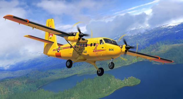 Revell militaarlennuk DHC-6 Tw..