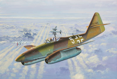 Revell Micro Wings Messerschmitt Me 262A 1:144 Easy-Click
