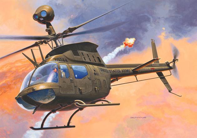 Revell Bell OH-58D K..