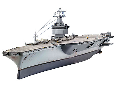 Revell Nuclear Carrier U.S.S. Enterprise..